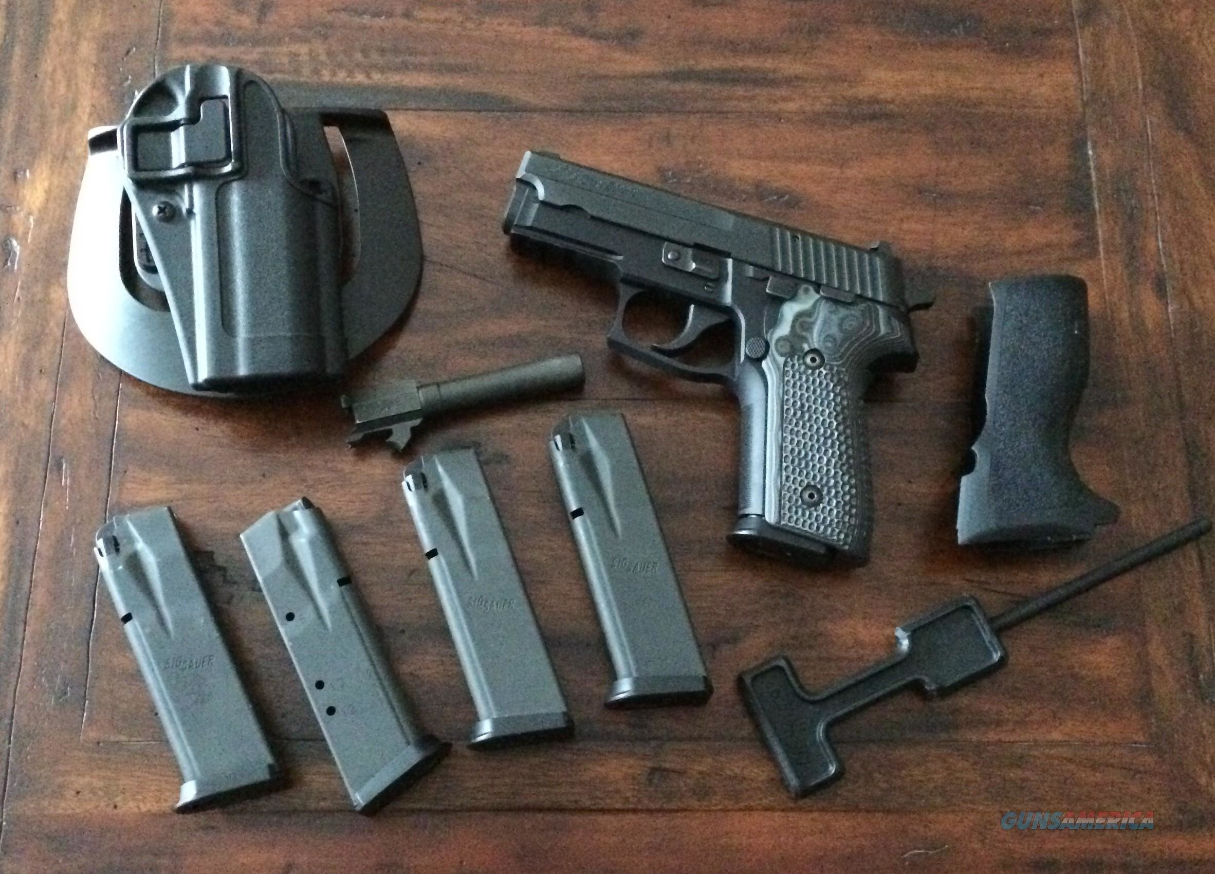 Sig 229 in 357 sig and 40s&w like new hogue G10 grips  Guns > Pistols > Sig - Sauer/Sigarms Pistols > P229