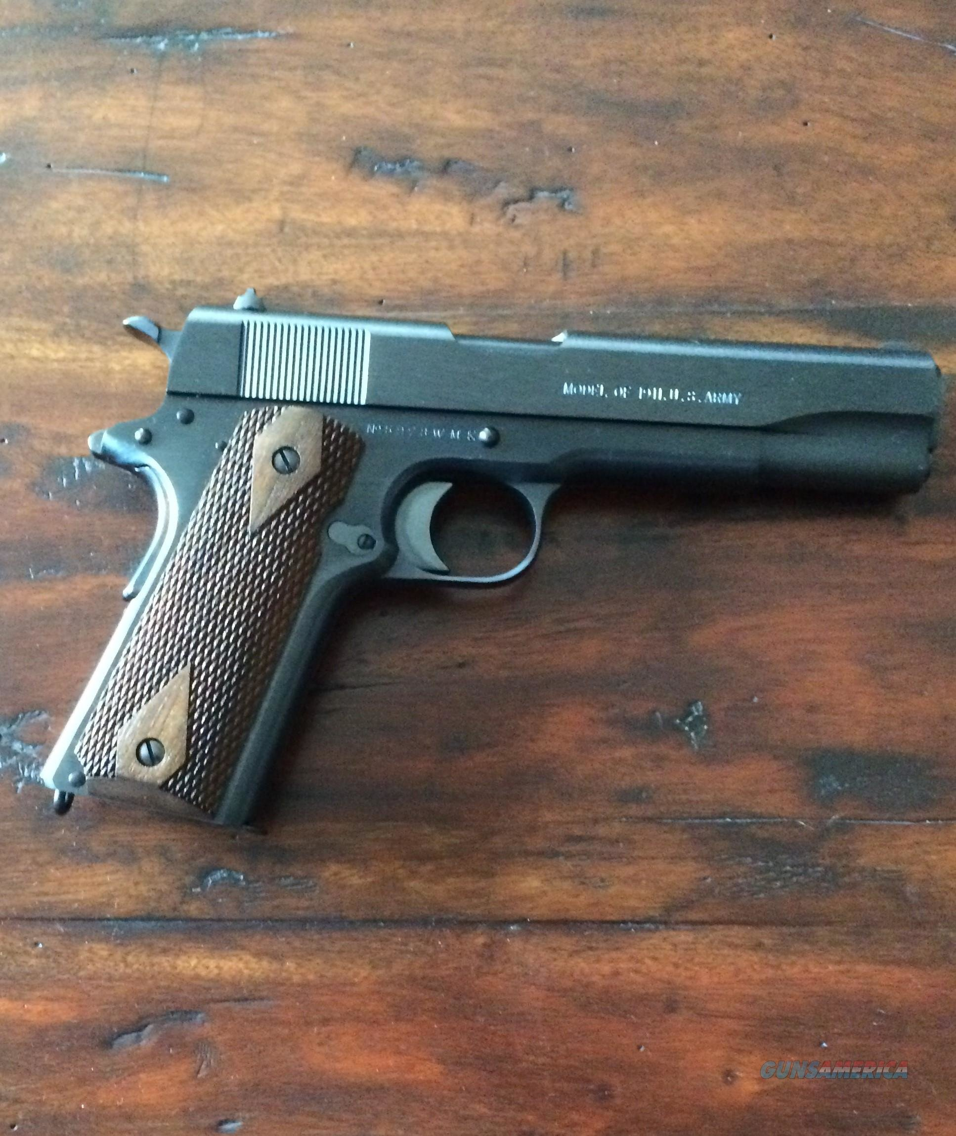 Colt WWI carbonia released 1-06-08 45ACP NEW NEW NEW  Guns > Pistols > Colt Automatic Pistols (1911 & Var)