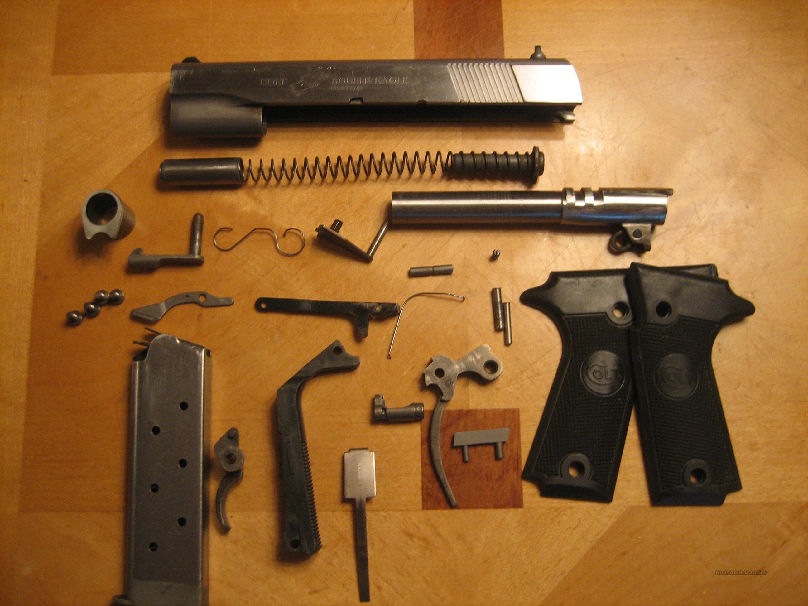 Colt Double Eagle Series 90 45acp Parts For Sale