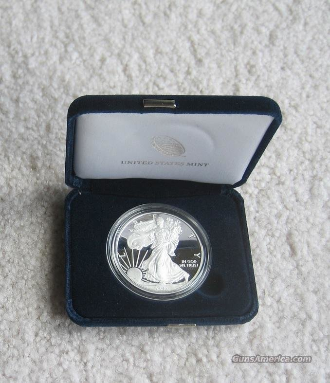 2012 AMERICAN EAGLE ONE OUNCE SILVER PROOF  Non-Guns > Coins