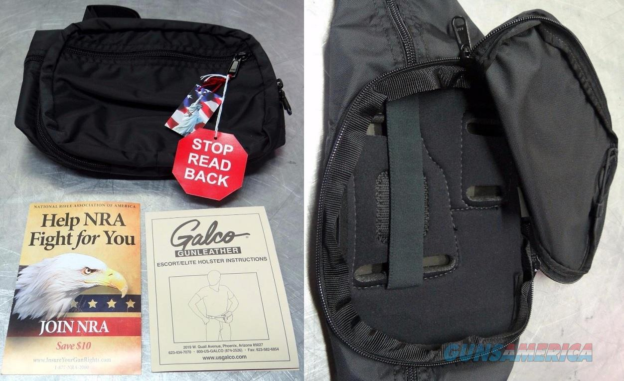 GALCO ESCORT FANNY WAIST PACK HIKING TACTICAL RIGHT HAND NEW  Non-Guns > Holsters and Gunleather > Concealed Carry