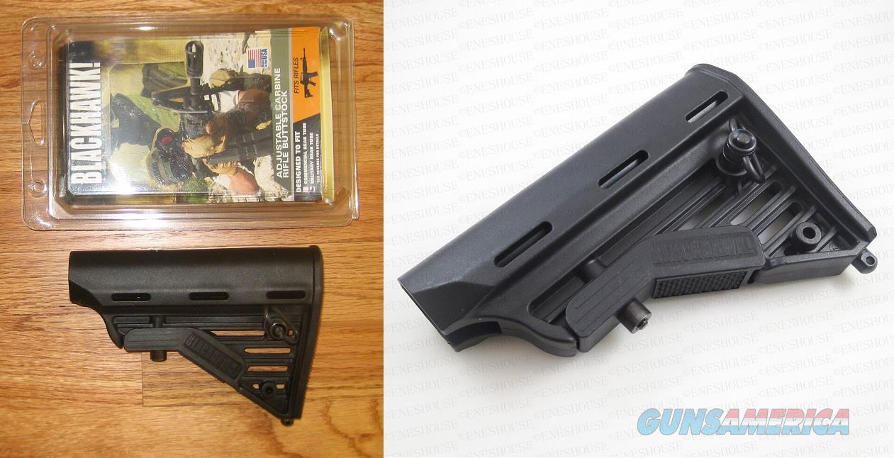 BLACKHAWK ADJUSTABLE MILSPEC RIFLE CARBINE BUTTSTOCK STOCK FOR AR15 AR-15 M4  Non-Guns > Gunstocks, Grips & Wood