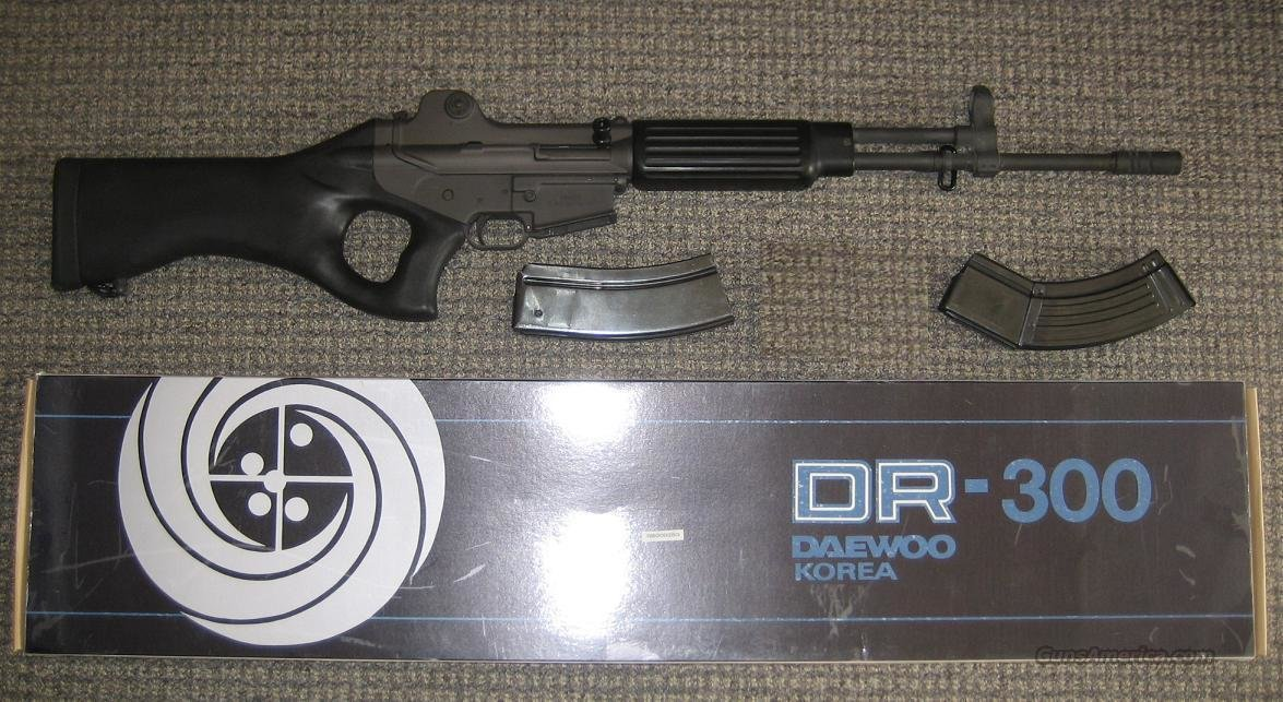 DAEWOO DR300 DR-300 DR 300 RIFLE  Guns > Rifles > Daewoo Rifles