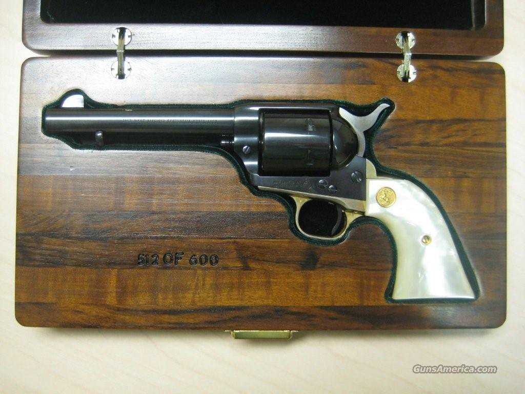 COLT SAA WEST VIRGINIA CENTENNIAL  1863-1963    Guns > Pistols > Colt Single Action Revolvers - 3rd Gen.