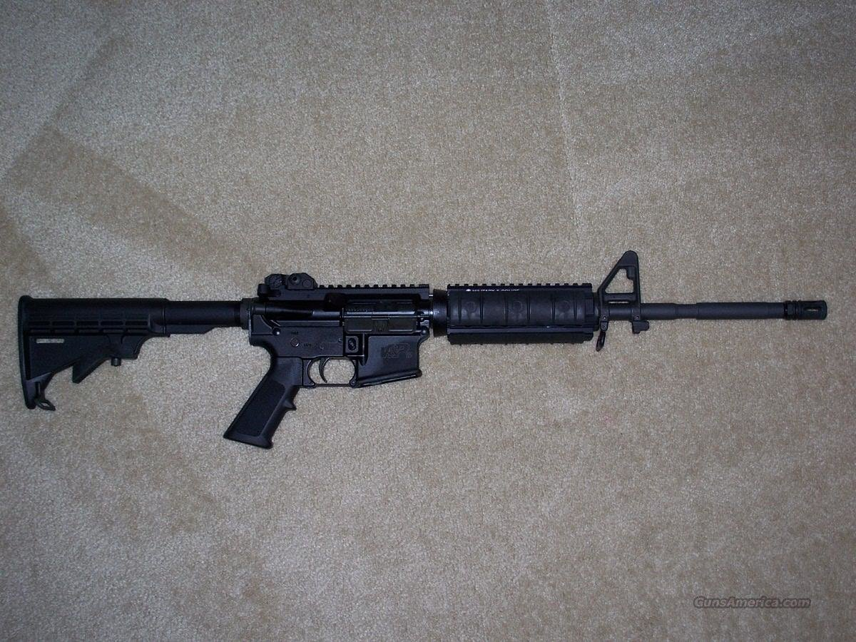 "S&W M&P-15 556 NATO Rifle 16"" Tactical  Guns > Rifles > Smith & Wesson Rifles > M&P"