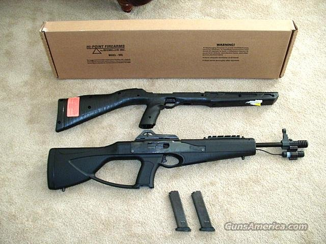 HI-Point 9MM Carbine / Custom Stock  Guns > Rifles > Hi Point Rifles