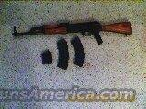 GP-WASR 1063 2-30rnd 1-5rnd  Guns > Rifles > AK-47 Rifles (and copies) > Full Stock