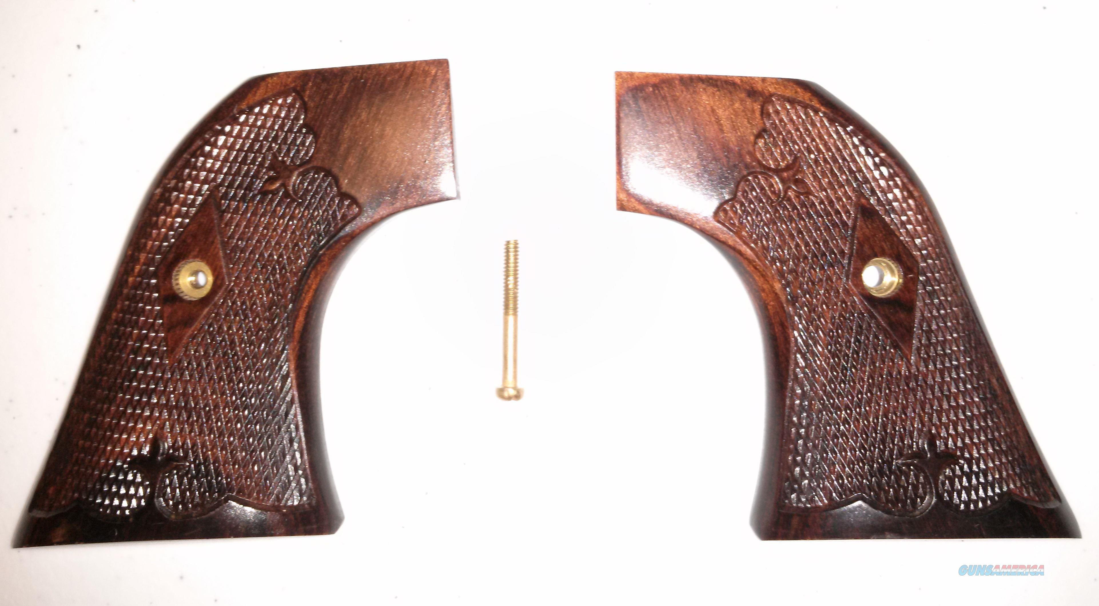 Cocobolo Grips for Ruger Single Six / Vaquero  Non-Guns > Gunstocks, Grips & Wood