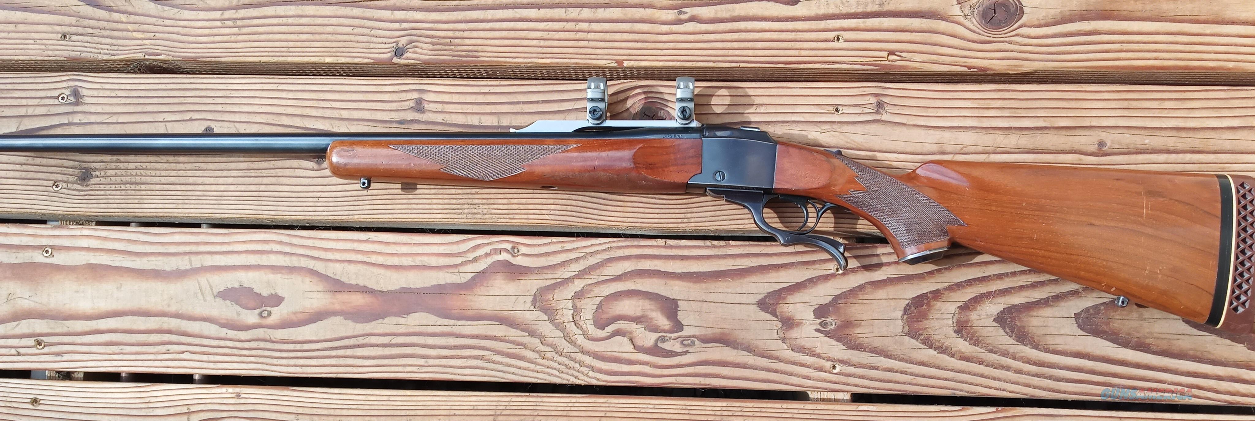 Ruger No.1 caliber 270 WIN  Guns > Rifles > Ruger Rifles > #1 Type