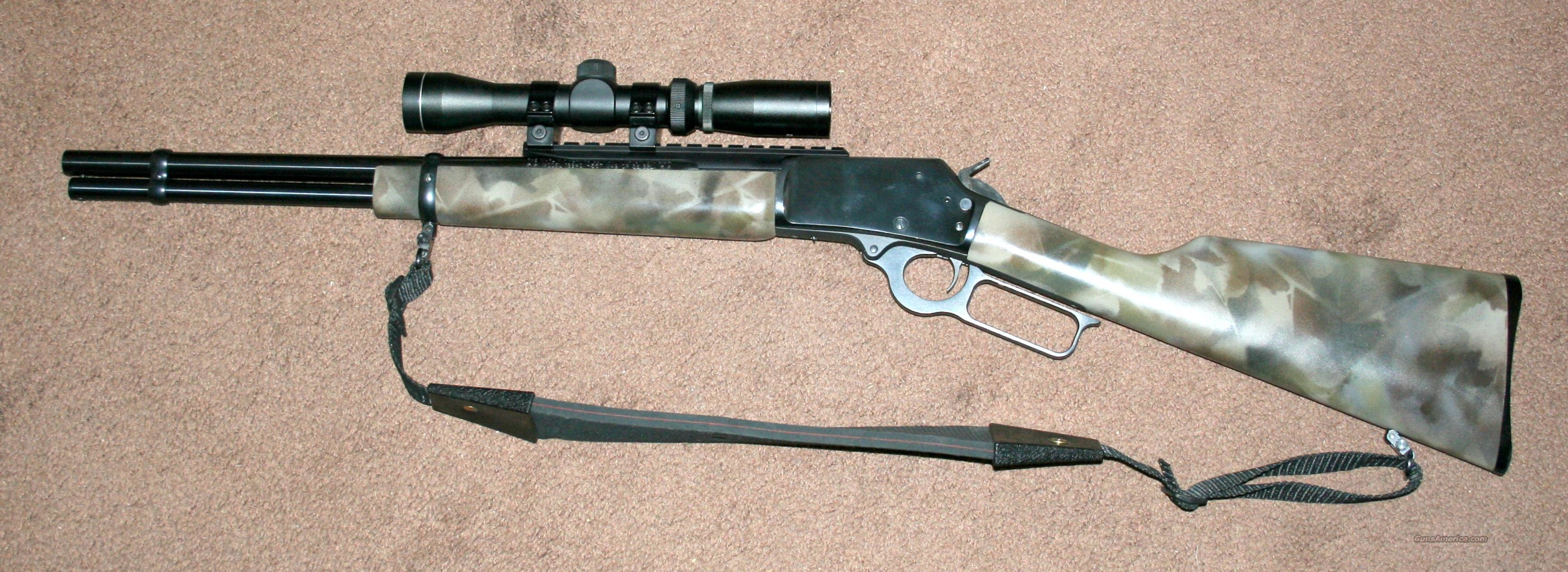 marlin .357/38 scout lever action  Guns > Rifles > Marlin Rifles > Modern > Lever Action