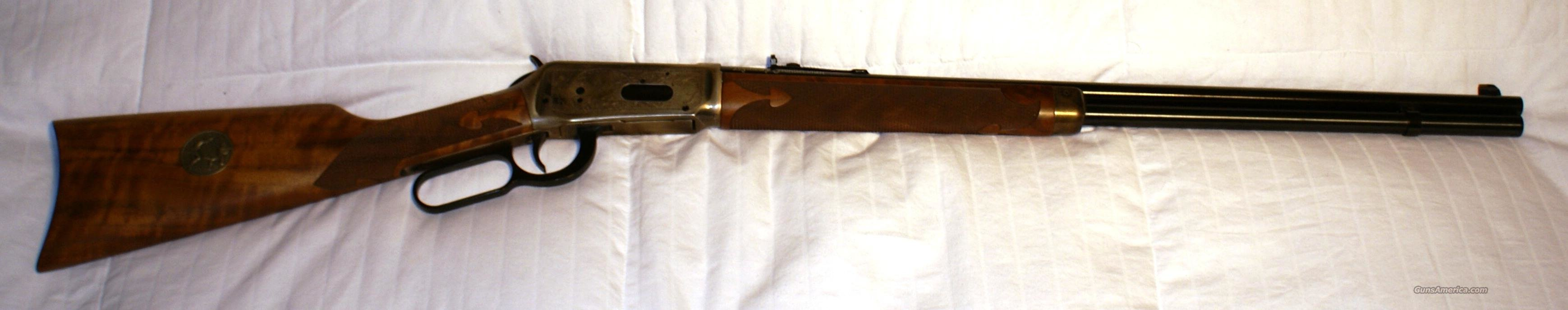 WINCHESTER LEGENDARY FRONTIERSMAN 38-55  Guns > Rifles > Winchester Rifle Commemoratives