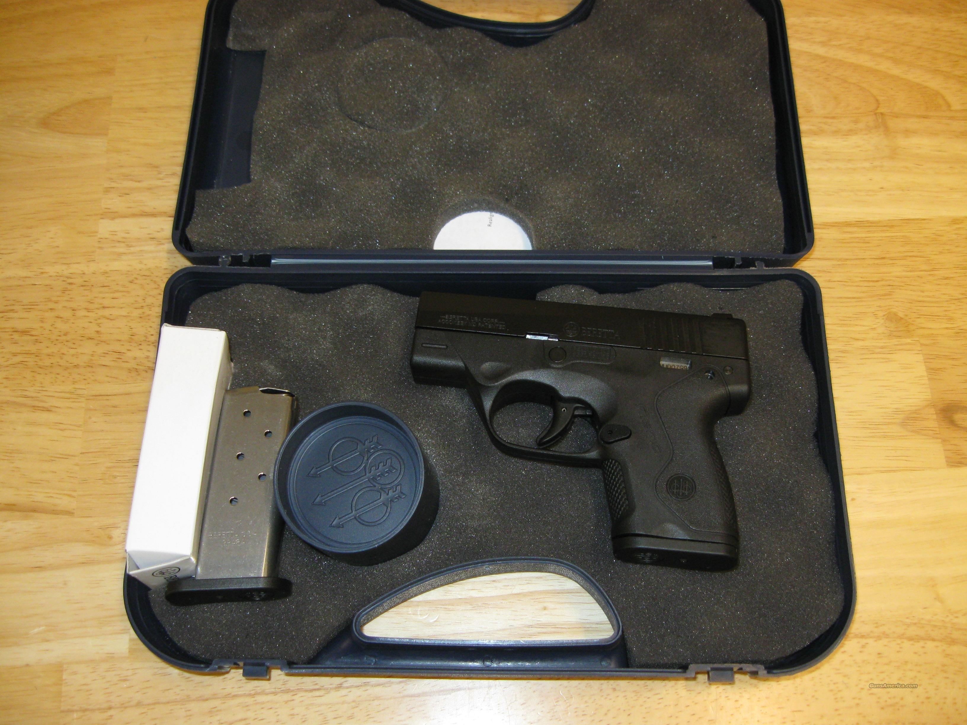"Beretta Nano Micro Compact Carry Pistol JMN9S15, 9MM, 3.07"", Technopolymer, Pronox Finish  Guns > Pistols > Beretta Pistols > Polymer Frame"
