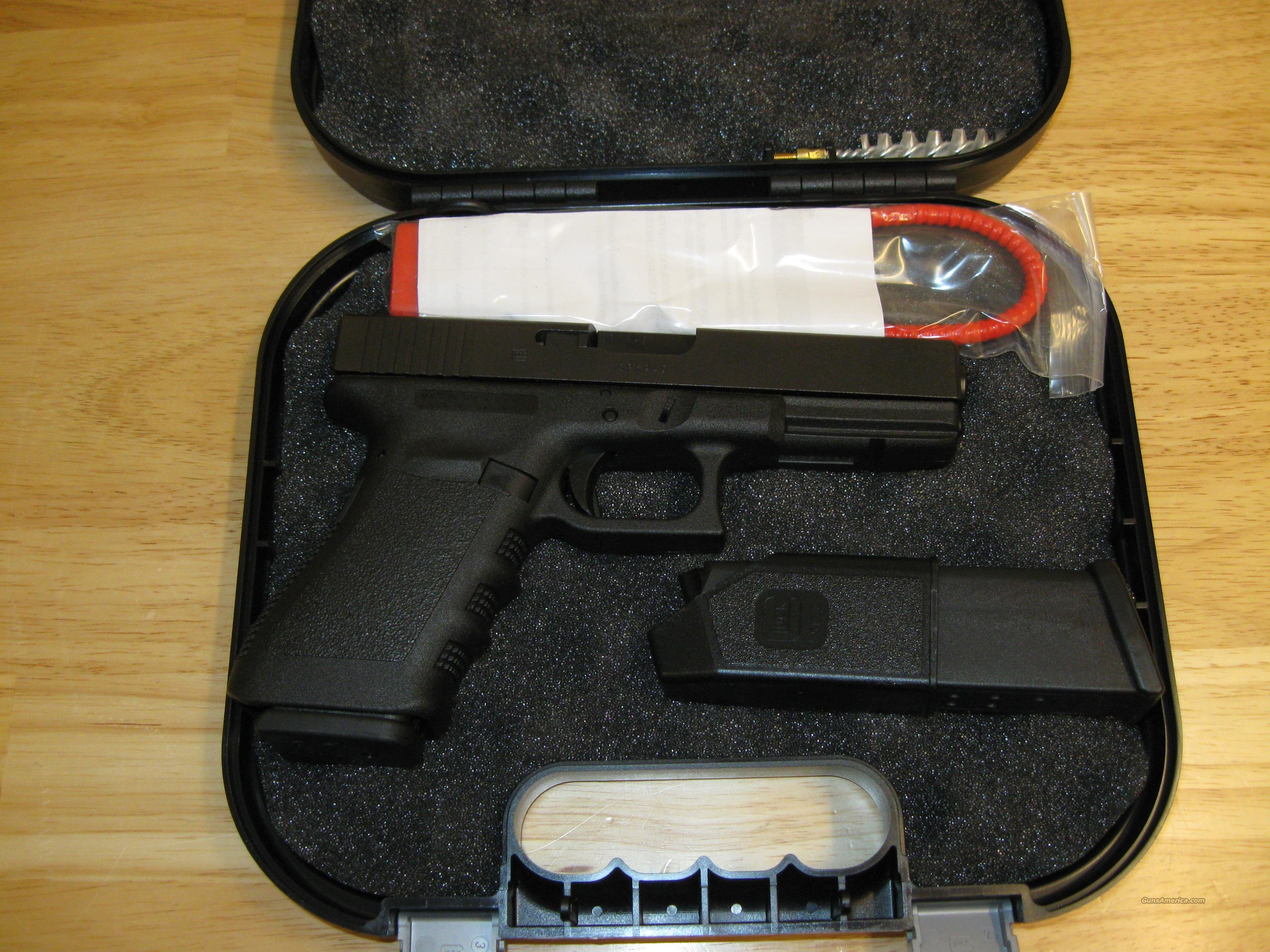 Glock Model 21 Standard Pistol PI2150203, 45 ACP, 4.60 in, Polymer Grip, Black Finish, Fixed Sights, 13 Rd  Guns > Pistols > Glock Pistols > 20/21