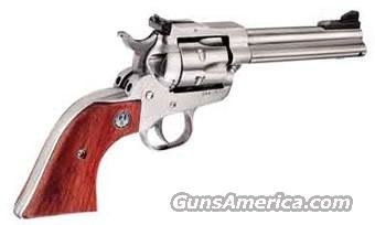 "Ruger Single Six Convertible 22 LR | 22 Magnum Revolver 0627, 4.6"", Stainless Finish, LIPSEY'S EXCLUSIVE  Guns > Pistols > Ruger Single Action Revolvers > Single Six Type"