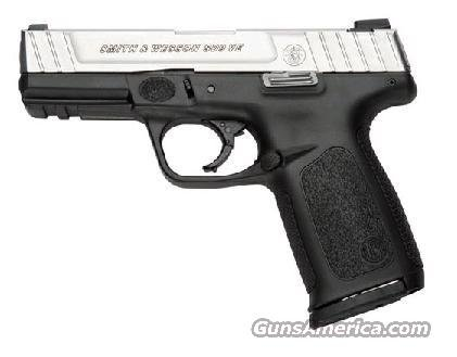 Smith & Wesson SD9 VE Standard Capacity Pistol 223900, 9mm, 4 in, Textured Polymer Grip, Stainless Finish, 16 Rd  Guns > Pistols > Smith & Wesson Pistols - Autos > Polymer Frame