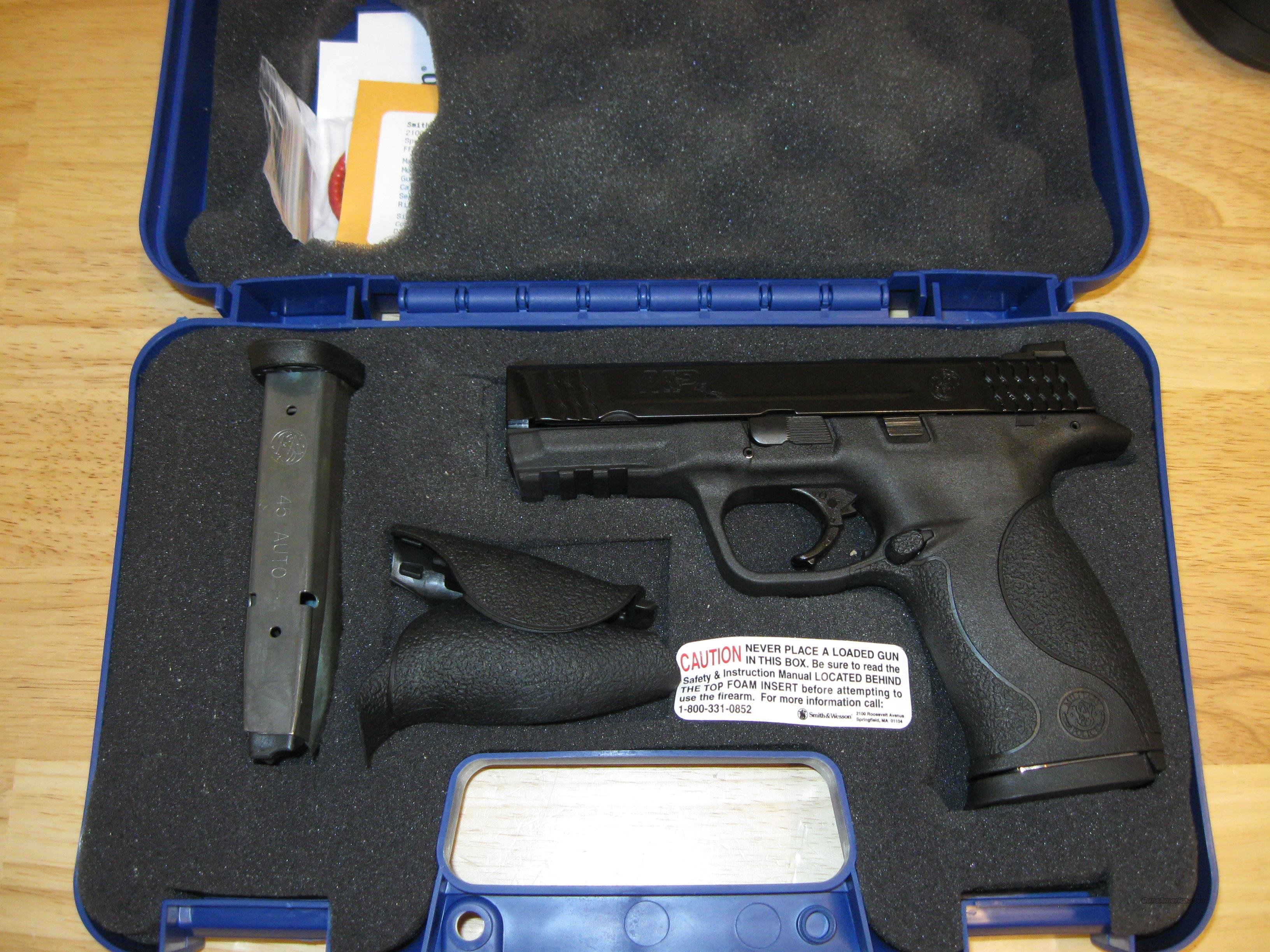 "Smith & Wesson M&P 45 Pistol 109307, 45 ACP, 4"", Polymer Grip, Black Finish, 10 Rd  Guns > Pistols > Smith & Wesson Pistols - Autos > Polymer Frame"