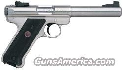 Ruger Mark III Model KMKIII Model512 Rimfire Pistol 10103, 22 Long Rifle, 5 1/2 in, Black Synthetic Grip, Stainless Finish, 10 Rd  Guns > Pistols > Ruger Semi-Auto Pistols > Mark I & II Family