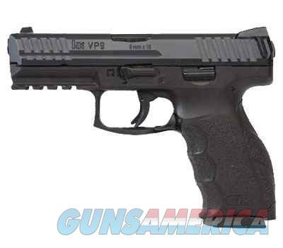 Heckler & Koch VP9 Striker Fired Pistol 700009LE-A5, 9mm, 4.09 In, Polymer Grip, Blue Finish, 15 Rd, Night Sights  Guns > Pistols > Heckler & Koch Pistols > Polymer Frame