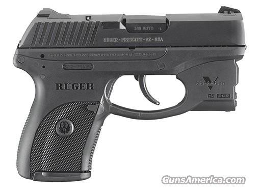 Ruger LC380 Pistol w/Viridian Green Laser & Holster 3228, 380 ACP, 3.12 in, Black Grip, Black Finish, 7 Rd, TALO EXCLUSIVE  Guns > Pistols > Ruger Semi-Auto Pistols > LCP