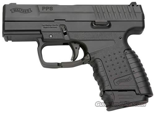 Walther Police Pistol Slim (PPS) 2796333, 9mm, 3.2 in, Polymer Grip, Black Finish, 7 Rd  Guns > Pistols > Walther Pistols > Post WWII > PPS