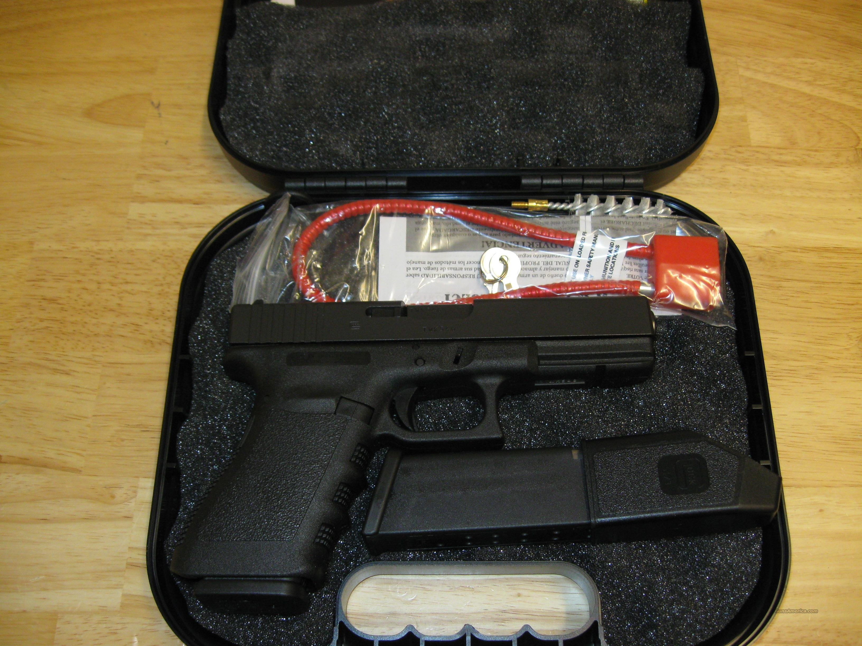 Glock 21C Standard Pistol w/Compensator PI2159203, 45 ACP, 4.60 in, Polymer Grip, Black Finish, Fixed Sights, 13 Rd  Guns > Pistols > Glock Pistols > 20/21