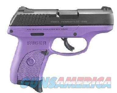 "Ruger LC9S Limited Edition Semi-Auto Pistol 3242, 9mm, 3.12"", Purple Polymer Grips, Blued Finish, 7 Rd  Guns > Pistols > Ruger Semi-Auto Pistols > LC9"