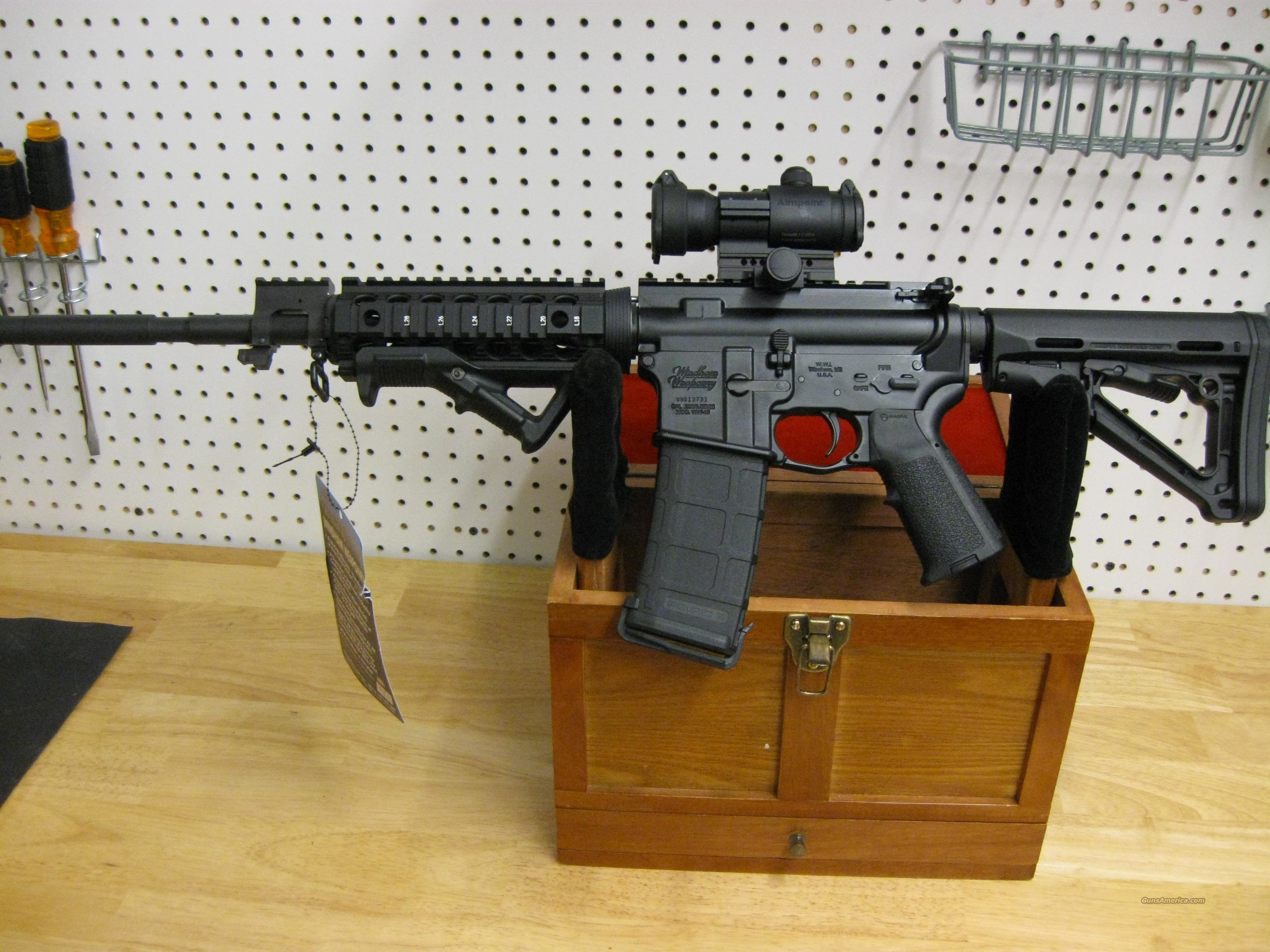 Windham Weaponry SRC M4 A3 Rail Rifle, 5.56mm, Aimpoint optic, Magpul, Troy, 30rd   Guns > Rifles > Windham Weaponry Rifles