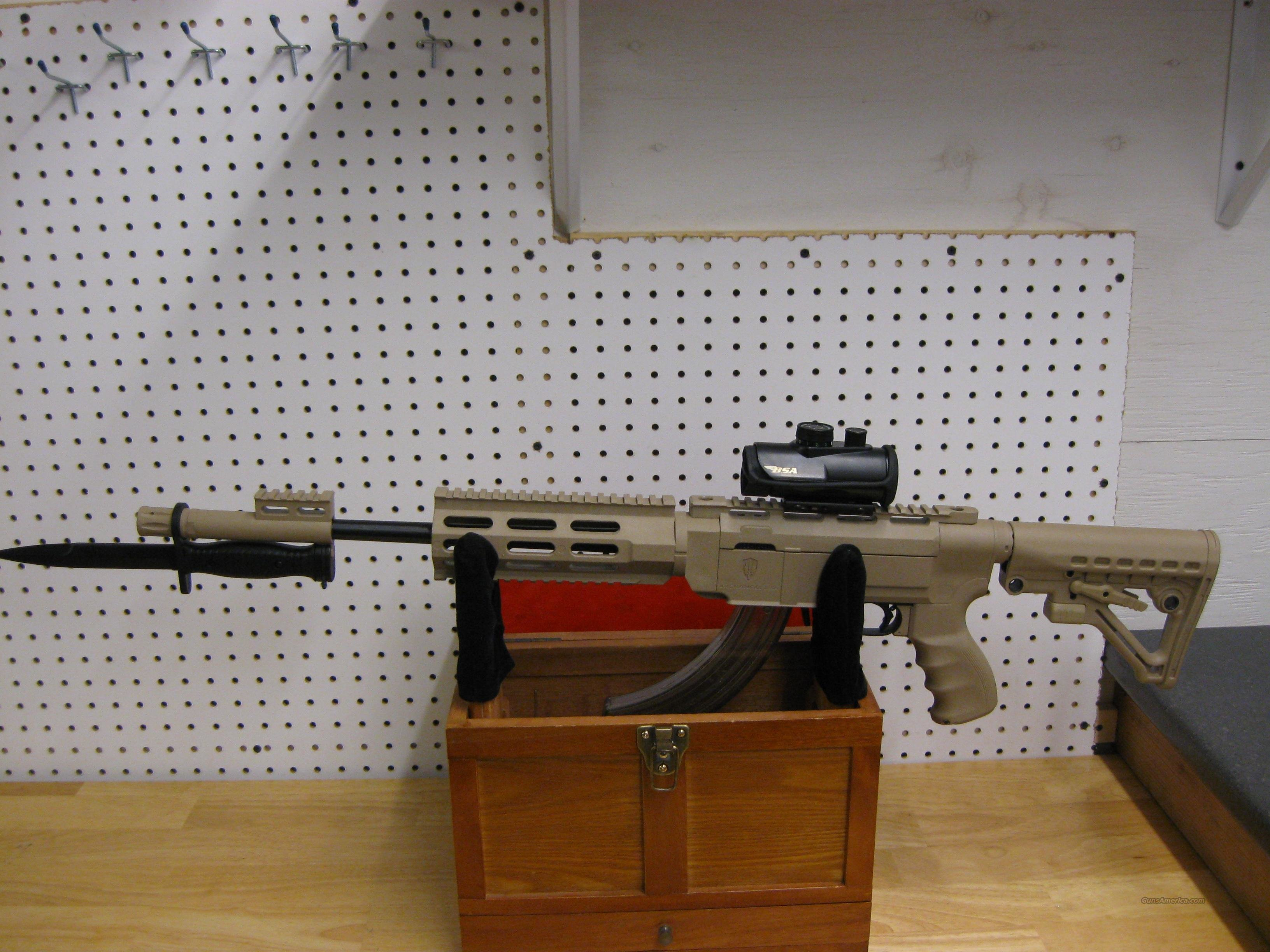 Ruger 10/22 FDE Archangle, 30Rd magazine with 30mm Optic  Guns > Rifles > Ruger Rifles > 10-22