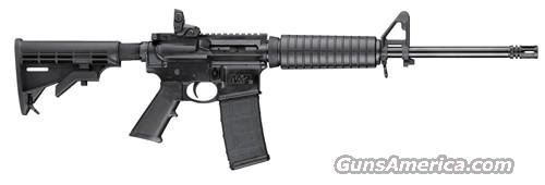 Smith & Wesson MP15 Sport AR-15 Rifle 811036, 5.56 NATO (223 Remington), 16 in, 6-Point Collapsible Stock, Black Finish, 30 Rd  Guns > Rifles > Smith & Wesson Rifles > M&P