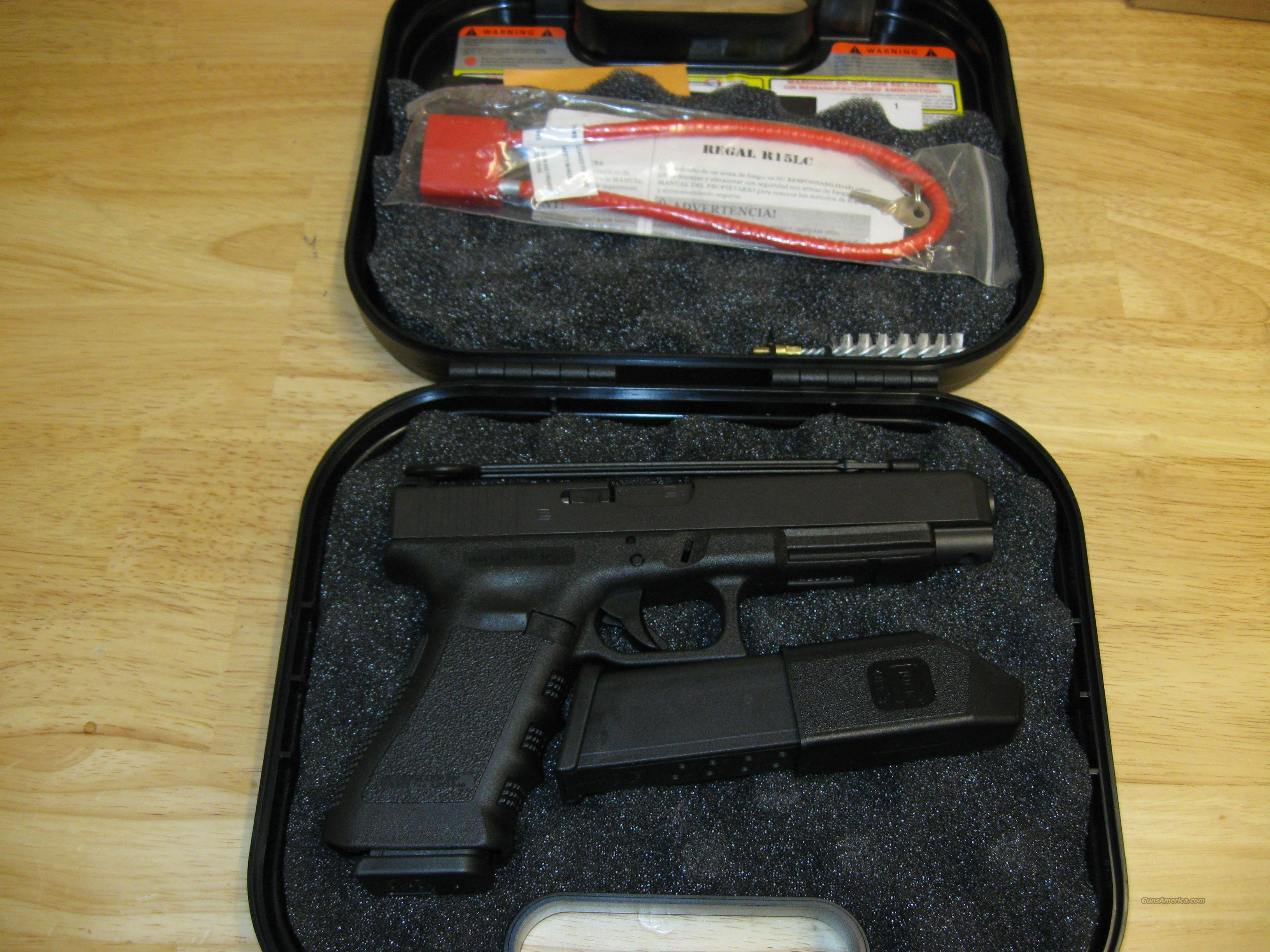 Glock 35 Competition Pistol PI3530103, 40 S&W, 5.32 in, Polymer Grip, Black Finish, Adjustable Sights, 15 Rd  Guns > Pistols > Glock Pistols > 35