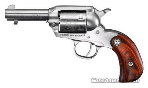 "BEARCAT SHOPKEEPER 22LR, 3"" STAINLESS STEEL 0915 BIRDSHEAD GRIPFRAME, LIPSEY'S EXCLUSIVE  Guns > Pistols > Ruger Single Action Revolvers > Single Six Type"