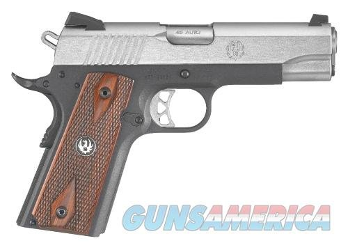 "RUGER SR1911 45ACP STAINLESS STEEL/ALUM 4.25"" 7+1 6711 