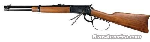 Rossi 92 Round BBL Large Loop Lever Action Rifle R92-57006, 45 Long Colt, 16 in, Walnut Stock, Blue Finish, 8 Rds  Guns > Rifles > Rossi Rifles > Cowboy