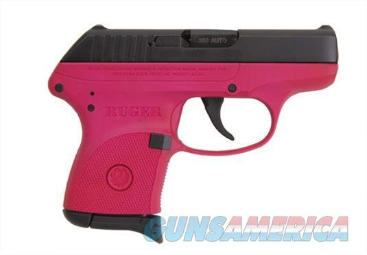 RUGER LCP (3705) .380 ACP ULTRA COMPACT PISTOL, RASPBERRY  Guns > Pistols > Ruger Semi-Auto Pistols > LCP