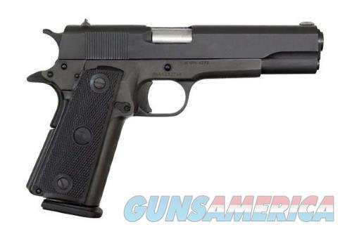 "ROCK ISLAND ARMORY M1911-A1 GI 1911 45ACP 5"" PARKERIZED/WOOD GRIP, DOUBLE STACK,  Guns > Pistols > 1911 Pistol Copies (non-Colt)"