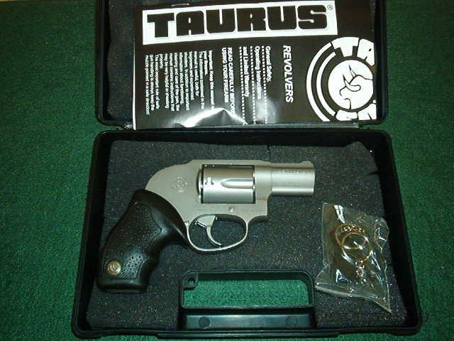 "Taurus Model 651 Protector Small Frame Revolver 2651129, 357 Remington Mag, 2"", Soft Rubber Grip, Matte Stainless Finish, 5 Rd  Guns > Pistols > Taurus Pistols/Revolvers > Revolvers"