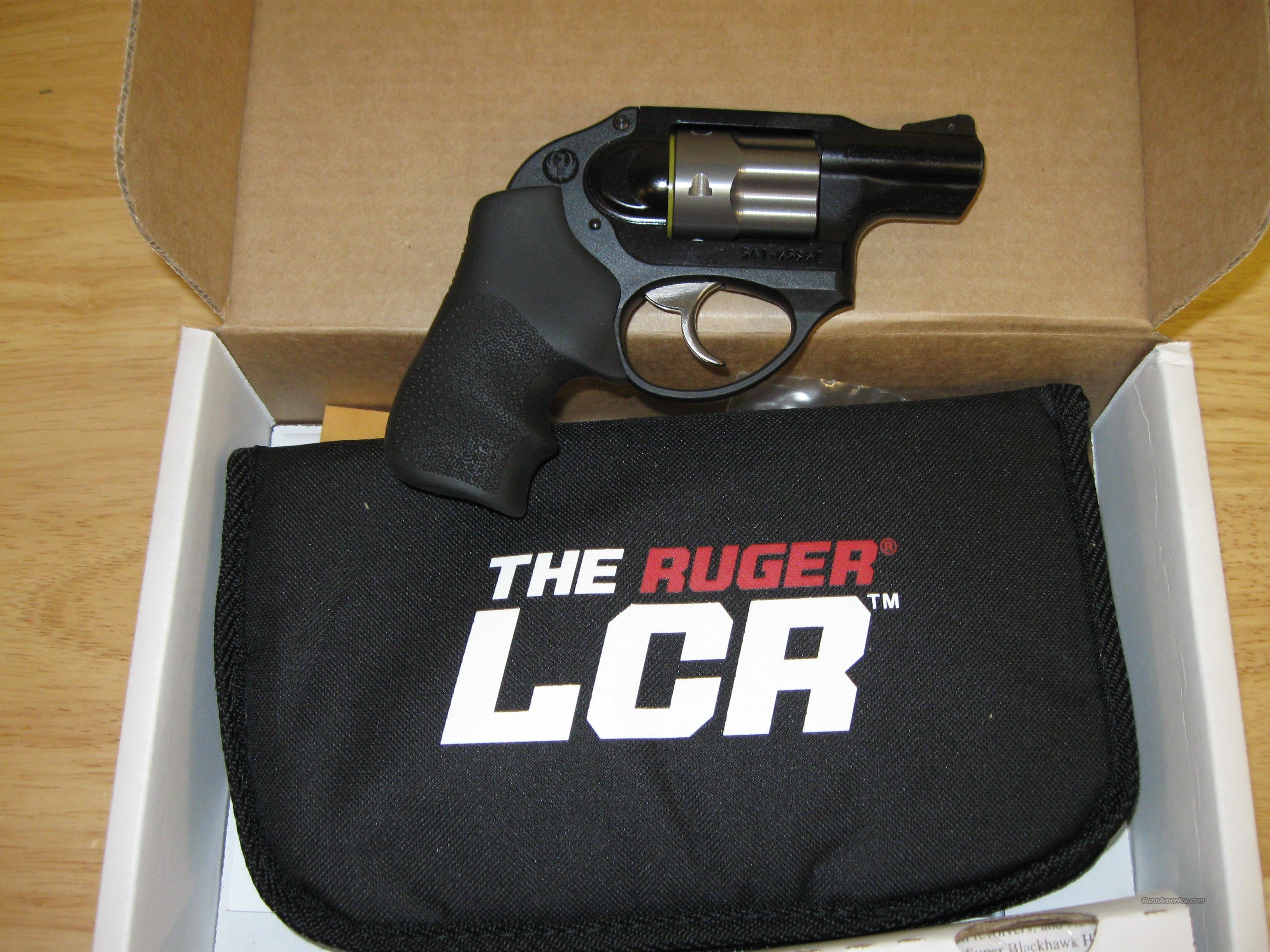 Ruger LCR Lightweight Compact Revolver 5401, 38 Special, 1.875 in, Hogue Grip, Matte Black Finish, 5 Rd  Guns > Pistols > Ruger Double Action Revolver > Security Six Type