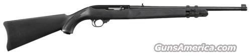 Ruger 10/22 Carbine w/ Lasermax 11129, 22 Long Rifle, 18.5 in, Synthetic Stock, Black Finish, 10 Rd  Guns > Rifles > Ruger Rifles > 10-22