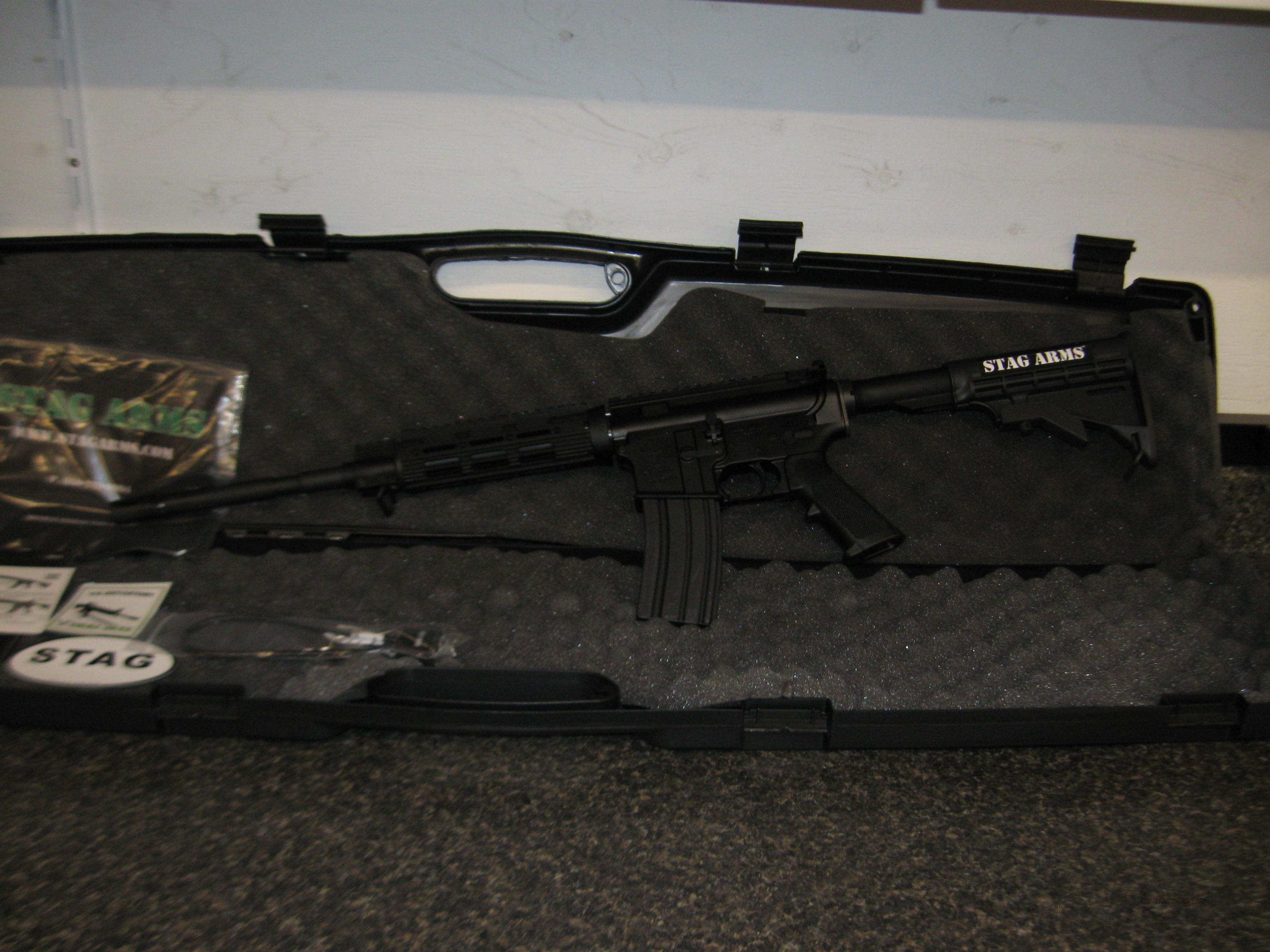 Stag Arms Model 3 AR15, 5.56mm/.223, 30 Rd. magazine  Guns > Rifles > Stag Arms > Complete Rifles
