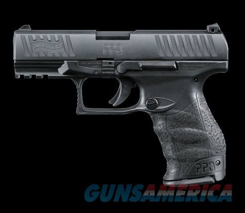 Walther PPQ M2 Pistol 2796066, 9mm, 4 in, Polymer Grip, Black Finish, 15 Rd  Guns > Pistols > Walther Pistols > Post WWII > P99/PPQ