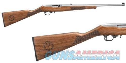 "Ruger 10/22 Semi-Auto Rifle 1297, 22 Long Rifle, 20"", Altamont Stock, Stainless Finish, Gold Bead Sight, 10 Rd, TALO EXCLUSIVE  Guns > Rifles > Ruger Rifles > 10-22"