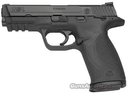 Smith & Wesson M&P 40 Full Size Semi-Auto Pistol 206300, 40 S&W, 4 1/4 in, Black Synthetic Grip, Black Finish, 15 Rd, Ambi Safety  Guns > Pistols > Smith & Wesson Pistols - Autos > Polymer Frame