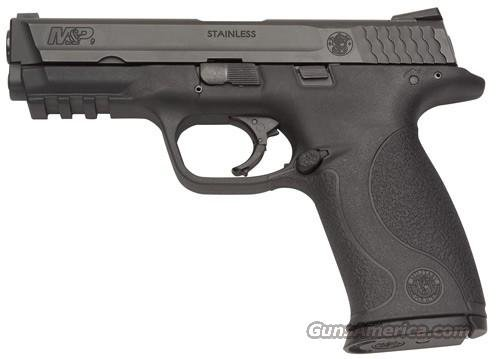 "Smith & Wesson M&P 9 Pistol 209301, 9mm, 4 1/2"", Plastic Grip, Black Finish, 17 Rd  Guns > Pistols > Smith & Wesson Pistols - Autos > Polymer Frame"
