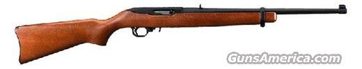 "Ruger 10/22 Rifle 1103, 22 LR, 18.5"", Semi-Auto, Birchwood Stock, Blued Steel Finish  Guns > Rifles > Ruger Rifles > 10-22"