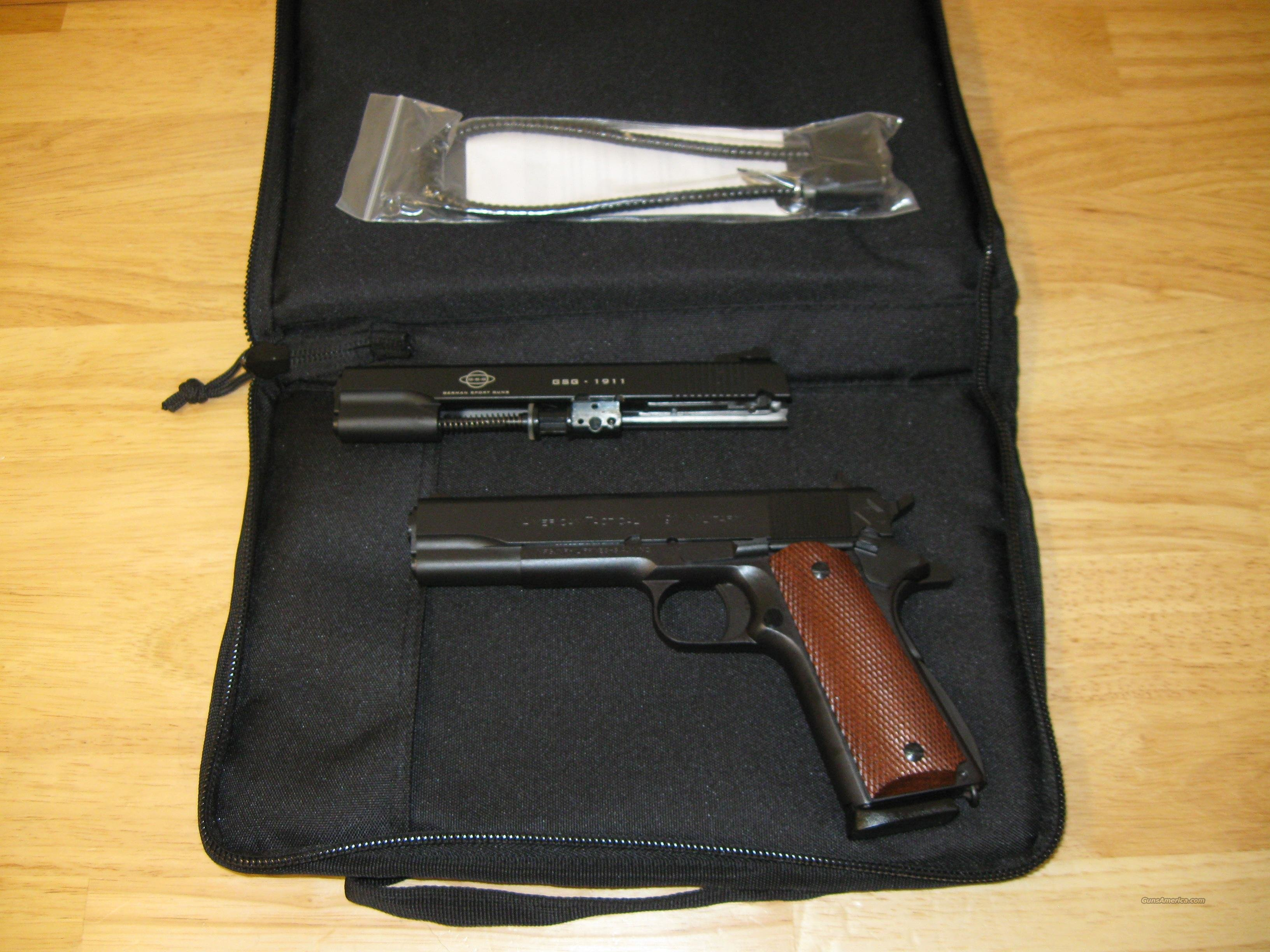 "AMERICAN TACTICAL IMPORTS FX45 1911 MILITARY 45 ACP TALO EXCLUSIVE 5"" W/ 22LR CONVERSION  Guns > Pistols > 1911 Pistol Copies (non-Colt)"