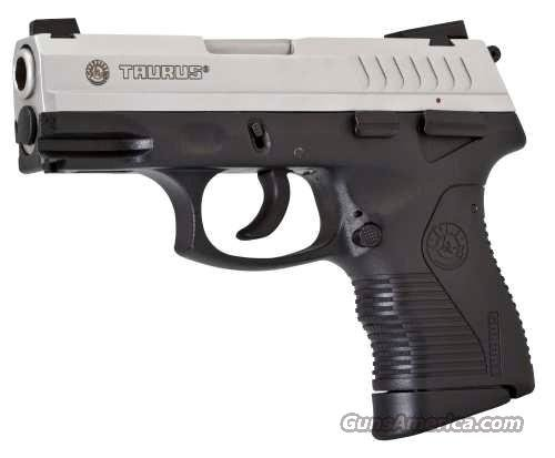 "Taurus 840 Compact Pistol 1840049C, 40 Smith & Wesson, 3-1/2"", Checkered Grip, Stainless Finish, 11 & 15 Rd  Guns > Pistols > Taurus Pistols/Revolvers > Pistols > Polymer Frame"