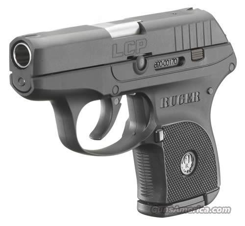 "Ruger LCP Lightweight Compact Semi-Auto Pistol 3701, 380 ACP, 2-3/4"", Checkered Polymer Grip, Blue Finish, 6 Rd  Guns > Pistols > Ruger Semi-Auto Pistols > LCP"