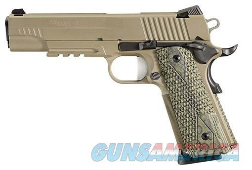 Sig 1911 Scorpion Pistol 1911R45SCPN, 45 ACP, 5 in, Hogue G10 Grip, Cerakote Finish, Low Profile Night Sights, 8 Rd  Guns > Pistols > Sig - Sauer/Sigarms Pistols > 1911