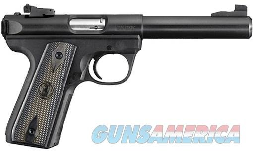 Ruger Target Pistol 10158, 22 Long Rifle, 5.5 in, Zytel Grip, 10 Rd  Guns > Pistols > Ruger Semi-Auto Pistols > Mark I/II/III Family