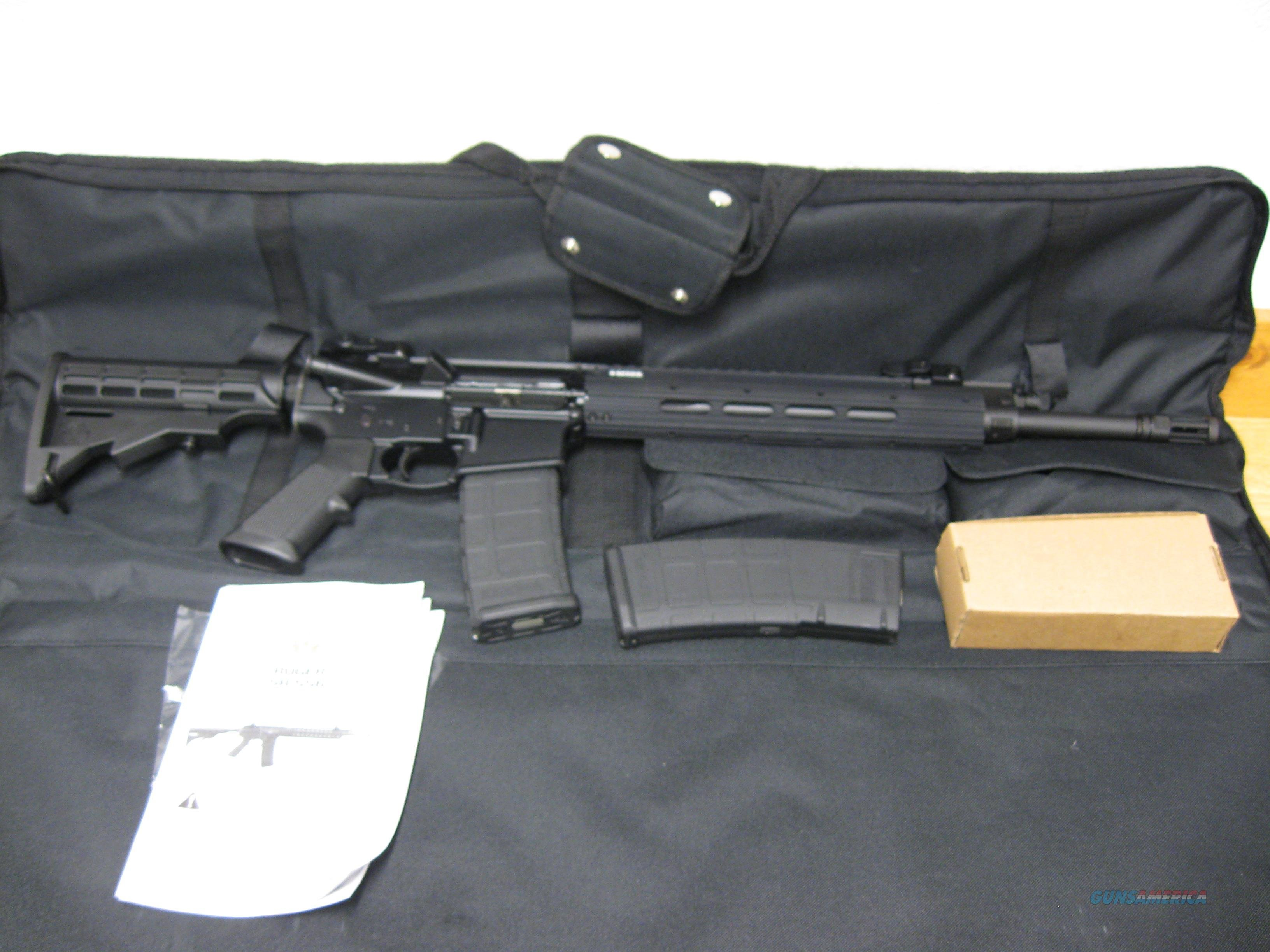 Ruger SR556E Semi-Auto AR-15 Rifle 5912, 223 Remington, 16 in, Collapsible Stock, Black Finish, 30 Rd     Guns > Rifles > Ruger Rifles > SR-556